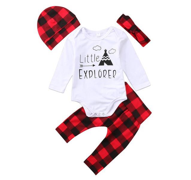 Newborn Infant Baby Boy Girl Clothes