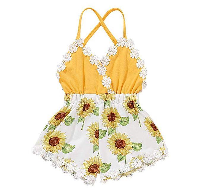 Summer Toddler Baby Girl Jumpsuit