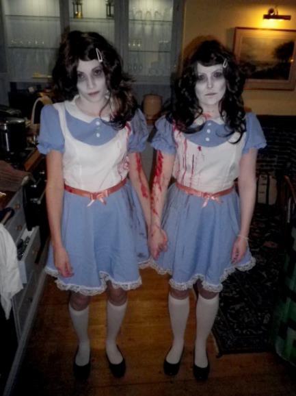 Twin this Halloween