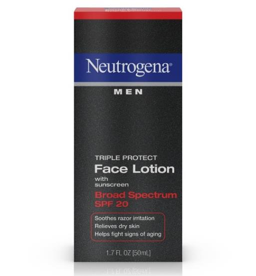 Neutrogena Men Triple Protect Face Lotion Broad Spectrum