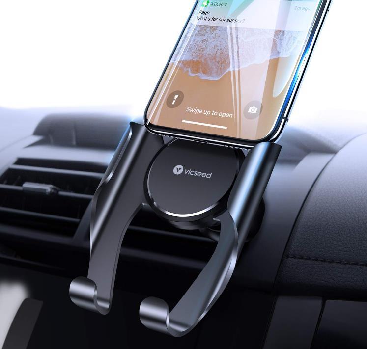 Car Phone Holder - VICSEED Car Phone Mount, Air Vent iPhone 11 Pro Holder