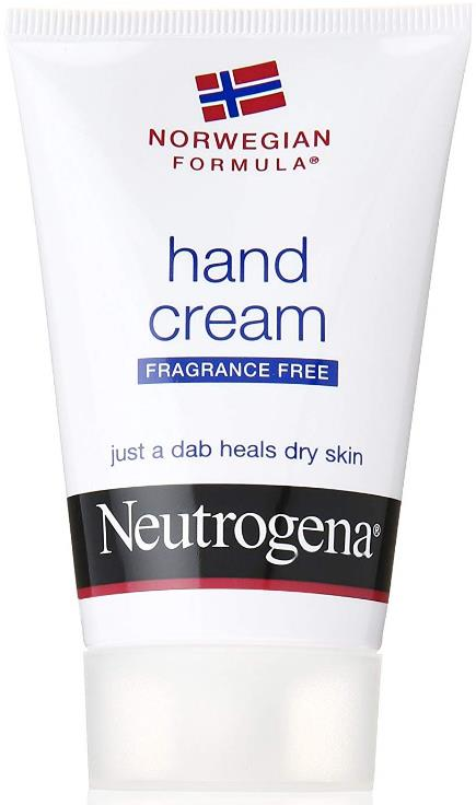 Neutrogena Norwegian Formula Fragrance-Free Hand Cream (Pack of 3)