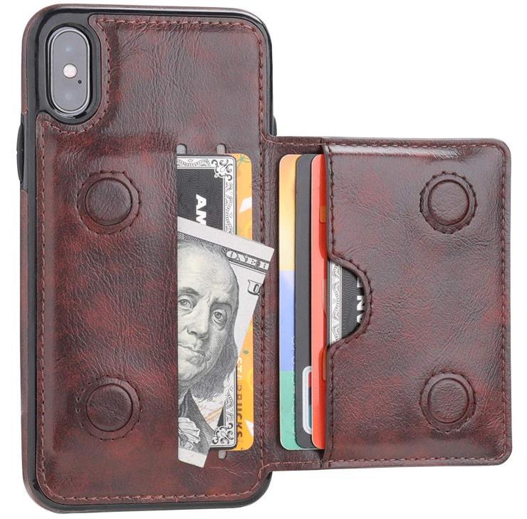 KIHUWEY iPhone X or Xs Wallet Case