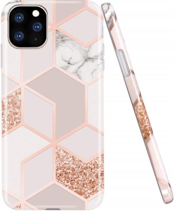 Bling Glitter Marble iPhone 11 Pro Case