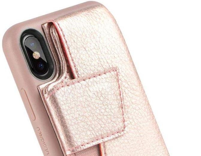 ZVEdeng iPhone X or XS Wallet Case