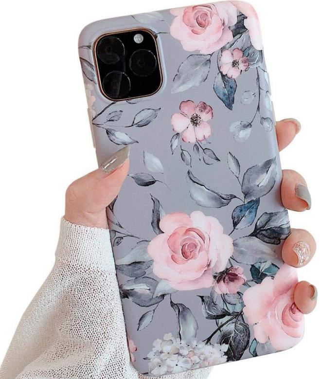 Pink Flowers iPhone 11 Pro Case