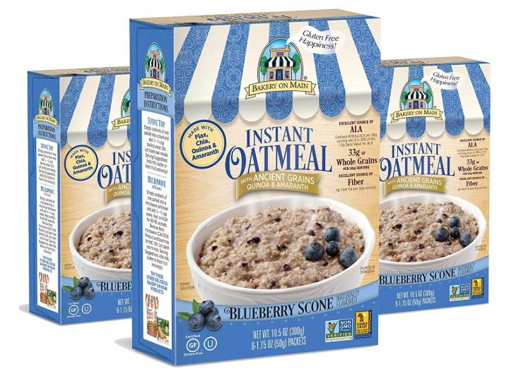 Ancient Grains Instant Oatmeal, Blueberry Scone