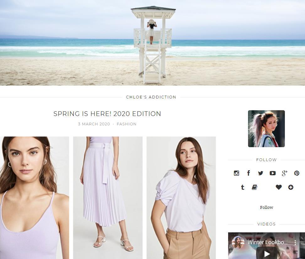 Chloe Ting Blog