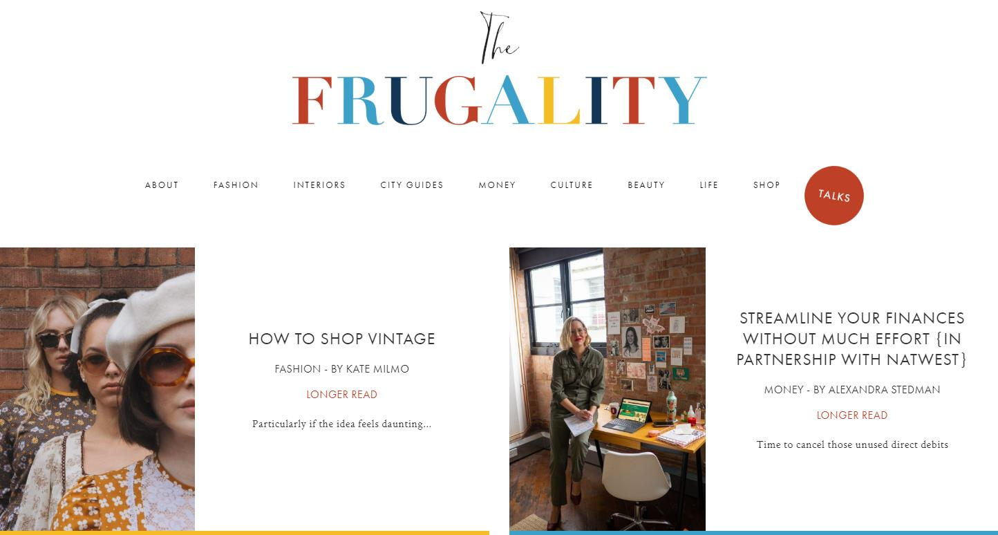 The Frugality Blog
