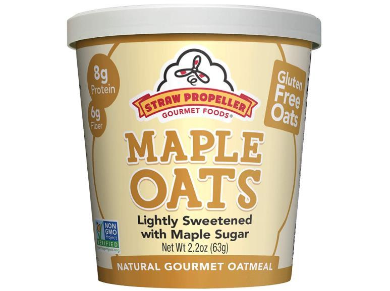 Gluten-Free Oatmeal Maple Oats