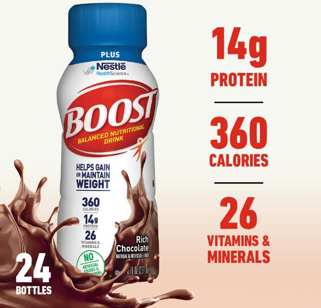 Boost Nutritional Chocolate Calories