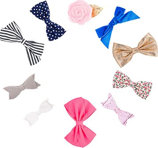 Baby Girl Bows Clips