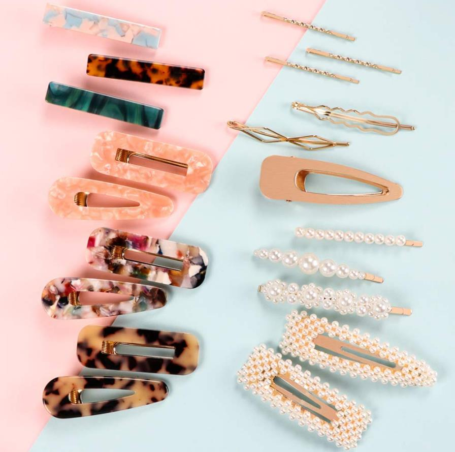 Syeenify Fashion Hair Clips Set