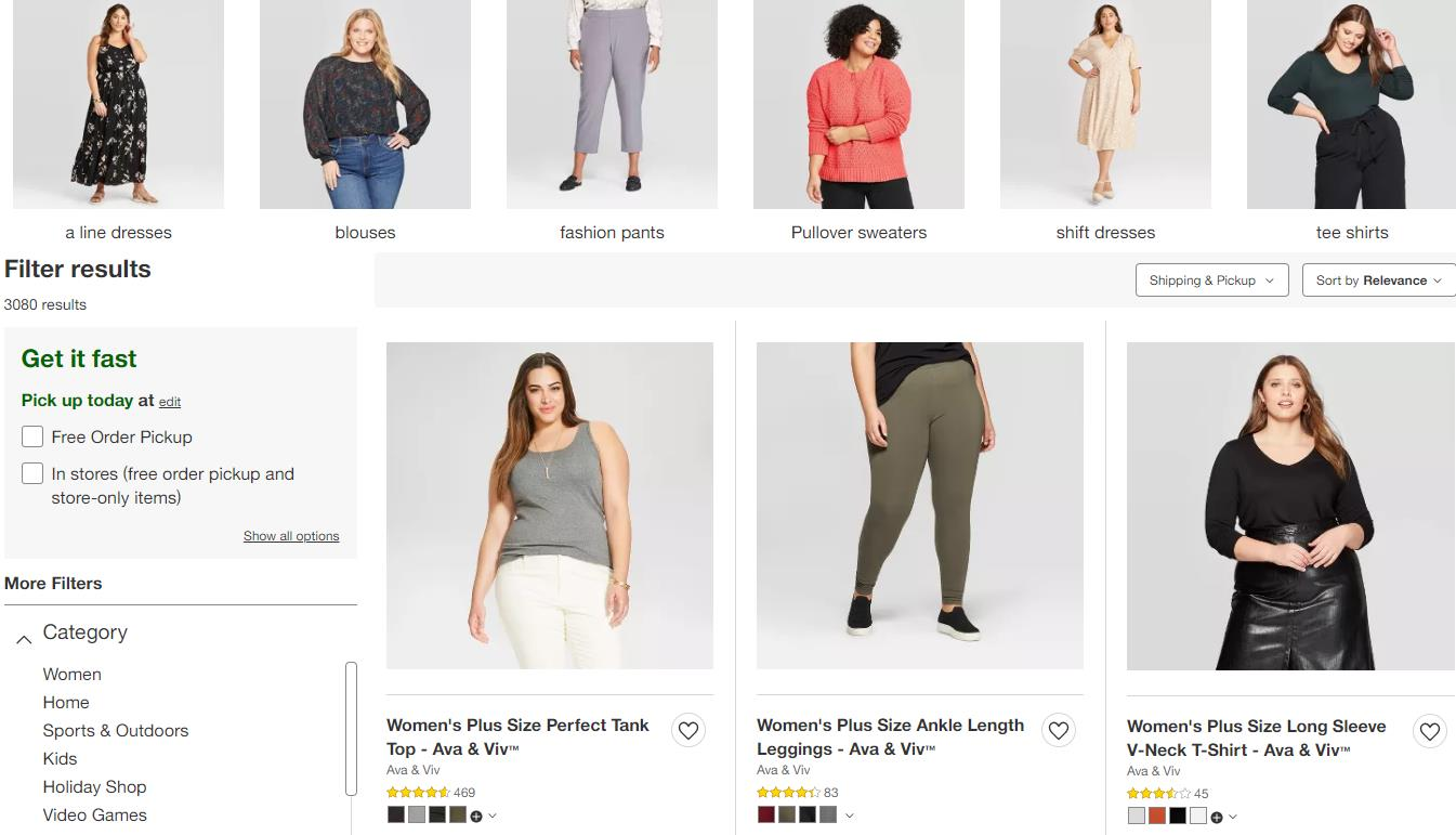 super cheap women plus size clothes