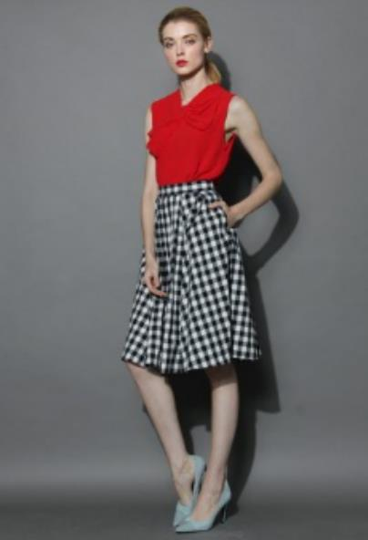 Lumberjack Summer Skirt