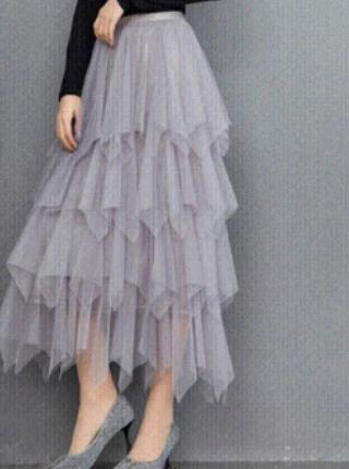 High Waist Aline Pleated Midi skirt 2020