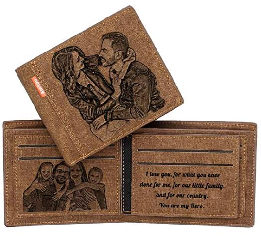 Personalized Photo RFID Wallets