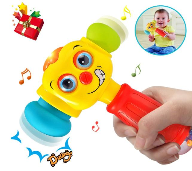 HOMOFY Baby Toys Funny Changeable Hammer Toys