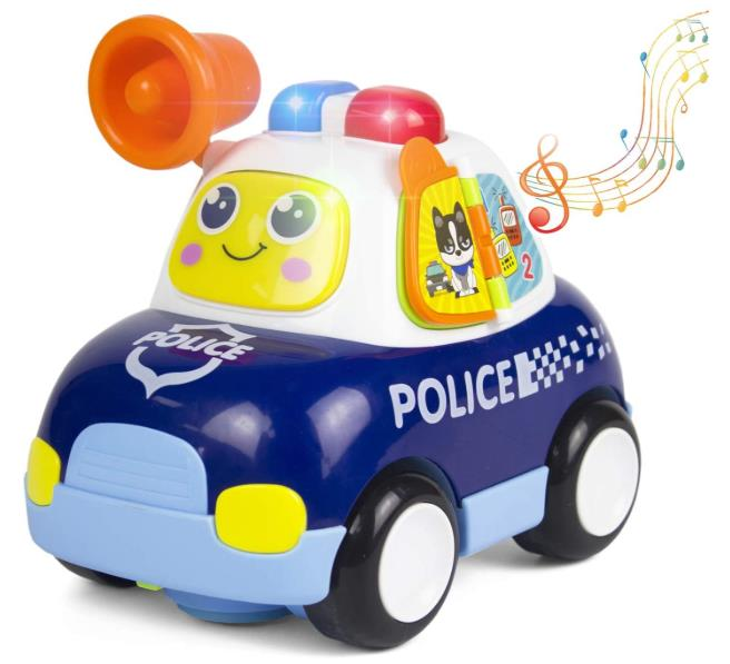 Woby Musical Police Car