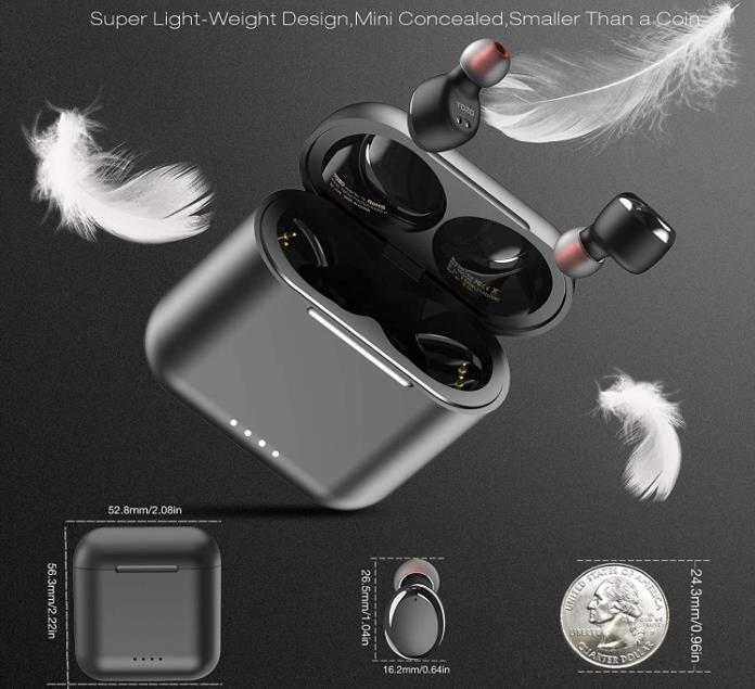 TOZO T6 True Wireless Earbuds Bluetooth Headphones
