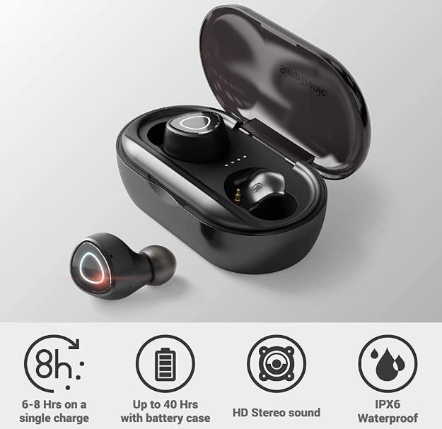 SimpTronic True Wireless Earbuds Bluetooth